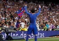 斬獲500球,小羅與阿圭羅向梅西祝賀