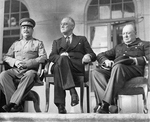 二戰:羅斯福如何算計丘吉爾