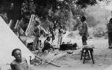 """老照片:1917年張勳復辟,""""辮子軍""""在北京"""