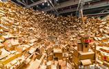 """廢紙殼能什麼用?這兩位藝術家用它造了一個""""複雜世界"""""""