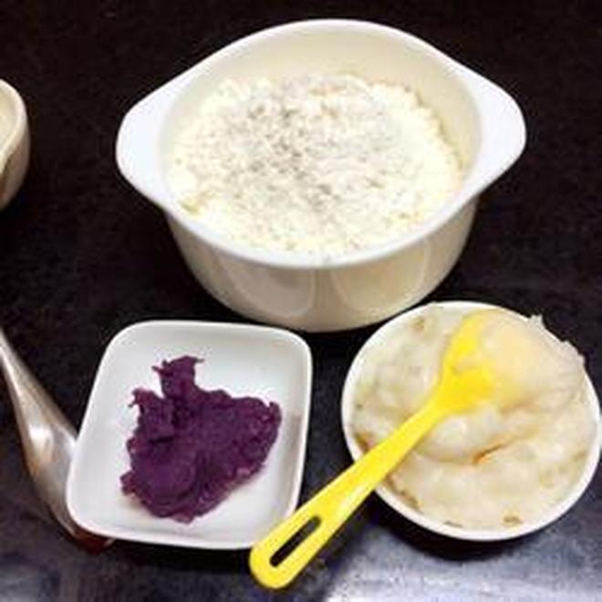 紫薯酥的做法與步驟