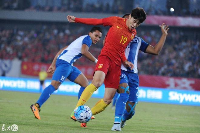 足球友誼賽,中國男足 2-2 洪都拉斯