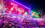 直擊加拿大萬人聖誕狂歡現場 隨著一列五彩繽紛的火車開啟