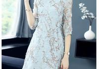 自己做改良版旗袍,寬鬆大碼裁剪圖分享給大家。就是胖點也可以穿
