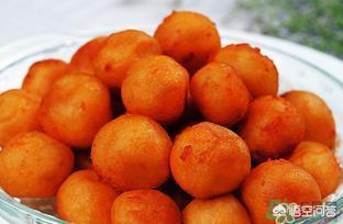 做紅薯丸子放多少糯米粉?