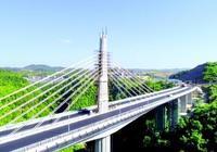 龍裡建成蘆笙造型斜拉橋