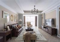 120平浪漫美式3居,家就應該這樣溫馨舒適!