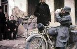 老照片:東線戰場德軍精銳部隊彩照