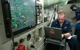 美最先進攻擊核潛艇內部細節曝光,到處都是電子大屏十分先進
