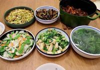 我家一週晚餐不重樣,6菜3菜都吃得香,連菜鍋都上了桌