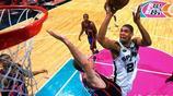 蒂姆·鄧肯,是一名美國職業籃球運動員,司職大前鋒與中鋒,現效力於NBA聖安東尼奧馬刺隊