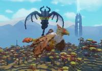體素沙盒遊戲《方塊方舟》寵物太難馴服了?主播馴獸方法教給你