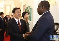 塞內加爾總統薩勒會見李源潮