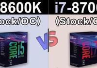超線程技術能讓CPU獲得更好的遊戲性能嗎?i5-8600K對比i7-8700K