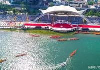 第十七屆安康漢江龍舟節開幕式,在漢江湖畔上熱烈舉行!