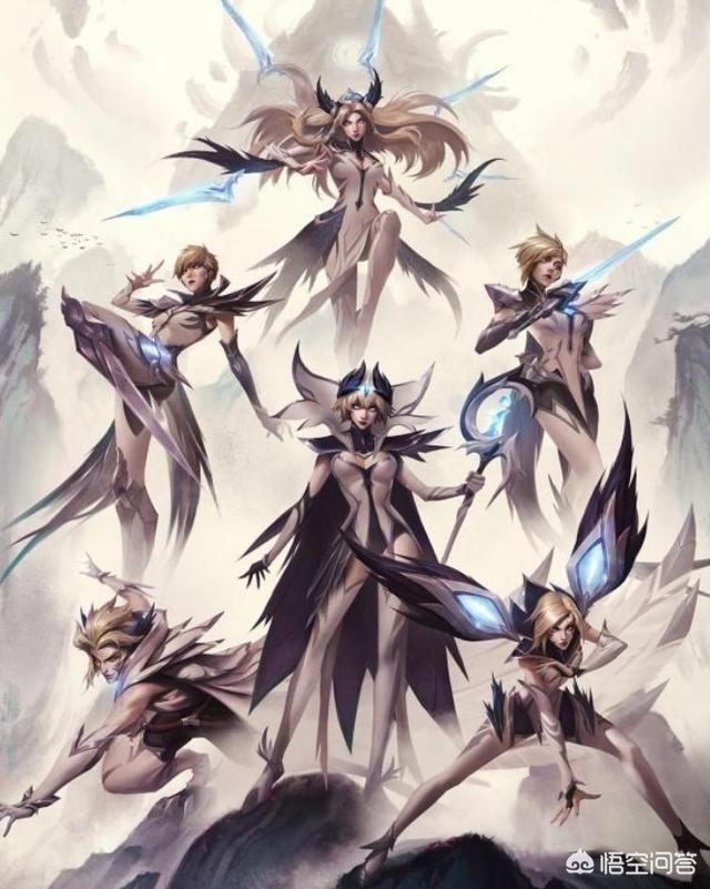 LOL國服迎來9.8版本跟新,天使連續被砍,劫被削,劍姬因冠軍皮膚得到加強,如何評價?