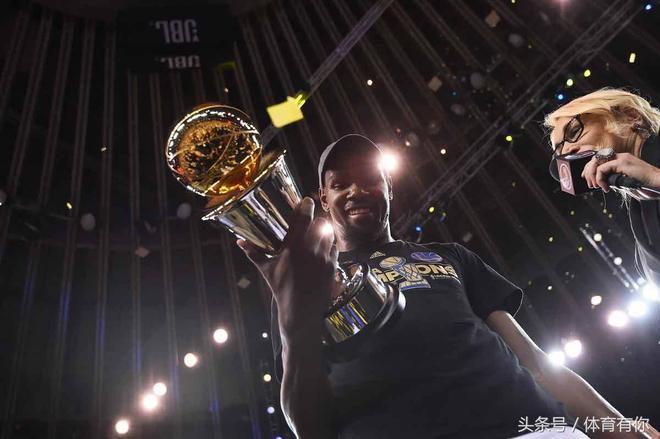 杜蘭特率金州勇士奪得NBA總冠軍