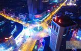 湘潭夜景 流光溢彩!你見過湘潭夜晚的航拍嗎?
