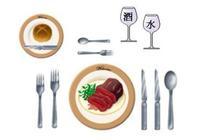 西餐禮儀——去吃西餐前必須知道這些常識!