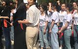 陳好現身中戲和易烊千璽劉昊然同框,修身職業裝被贊最美女教師!
