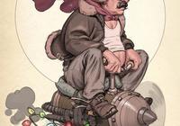 捷克CG插畫師約里斯·德沃夫作品分享