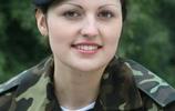迷人的烏克蘭女兵