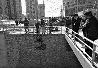 共享單車被扔亮馬河底