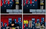 英雄漫畫,蝙蝠俠成了超人的惡夢,讓超人潸然淚下