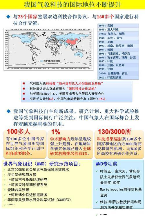 氣象科技創新體系建設