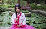 美麗的朝鮮族少女