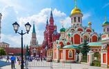 俄羅斯莫斯科紅場,號稱世界最美城市廣場,建築和美女都是風景