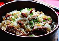 【排骨糯米飯】軟糯鹹香,營養美味,一招就把飯菜都做好了!