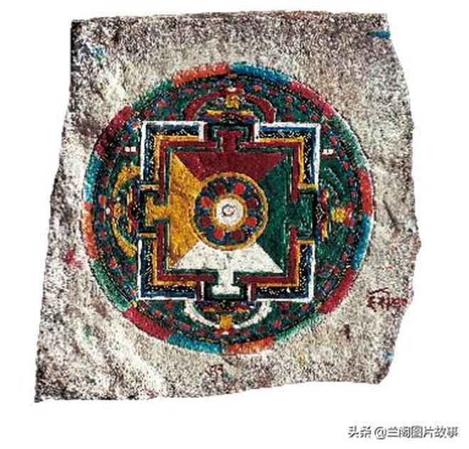 從世界上最大的瑪尼堆看藏族傳統藝術主題——彩繪壇城的玄妙之處