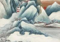 吳湖帆經典山水畫