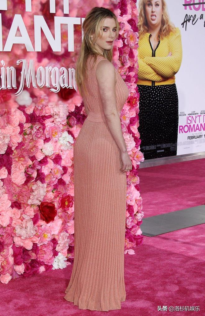 LA娛樂 美國演員貝蒂·吉爾平,出席洛杉磯艾斯酒店劇院某首映式