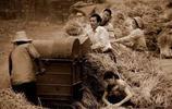 鏡頭下:9張農村收麥子時老照片,只有80、90後才經歷過!