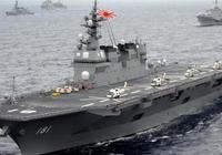 """日本""""出雲""""號與美國航母在南海軍演!這就是安倍所謂的""""日中關係已重回正常軌道""""?"""