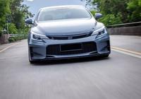 戒不掉的V6情節,豐田銳志改裝低趴風格,無改裝不銳志