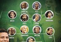 羅納爾多,齊達內作為皇馬名宿為什麼在他們歷史最佳陣容裡都沒有C羅,而都有梅西?