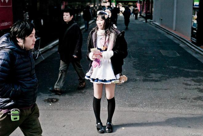 71張日本街頭攝影照片,記錄罕見的一面