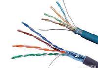網線為什麼不能用音響信號線或者音箱線?帶屏蔽銅芯的網線也不行嗎?