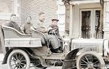 清朝的交通工具你見過嗎,看看這組老照片,騾車汽車貨車大清都有