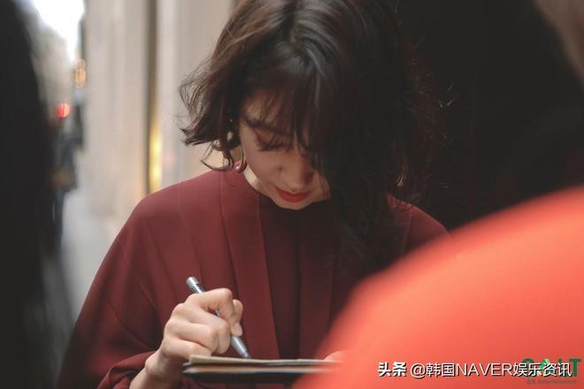 樸信惠:巴黎街頭的短髮女神,感性成熟範兒大爆發!