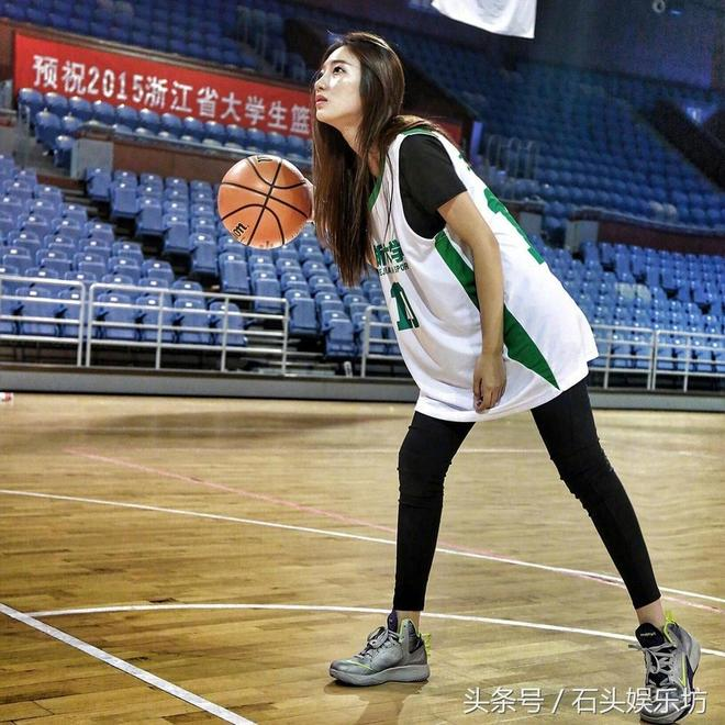 籃球寶貝曾經的籃球特長生,生活寫真照