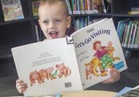 墨爾本一3歲兒童看1000本書大挑戰完成!