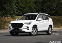 小型SUV有什麼好推薦的?瑞虎3X,寶駿510,哈弗M6,遠景SUV哪個更好一些?