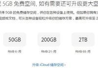2TB的蘋果iCloud服務降價至每月68元