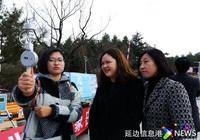 """""""觀雲識天"""" 延邊州氣象局舉辦世界氣象日科普活動"""