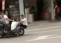 中國終於出現了掛車?交警都驚呆了 哈哈哈