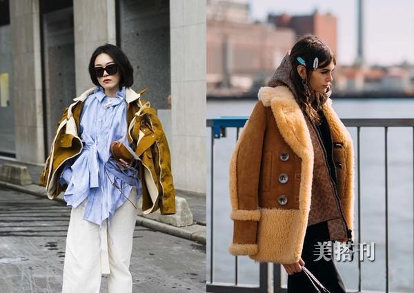親膚的羊羔毛外套,冬季怎麼能少了它呢!